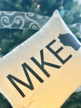 MKE pillow